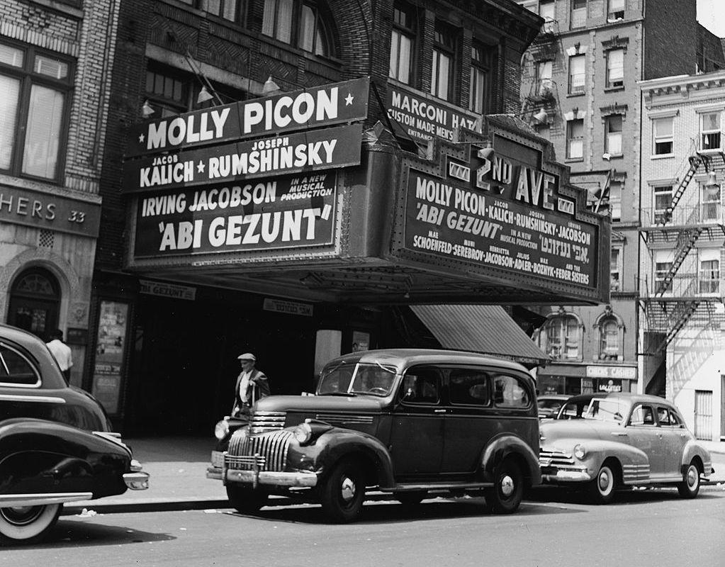 Le cinéma yiddish