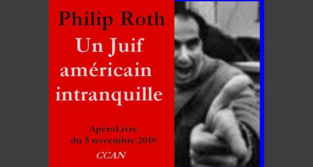 Roth : un Juif américain intranquille, avec Jean -Pierre Hanel et Stanislas Mahé