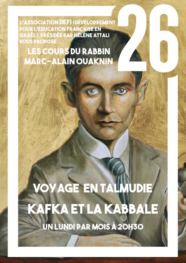 Kafka et la Kabbale, avec Marc-Alain Ouaknin