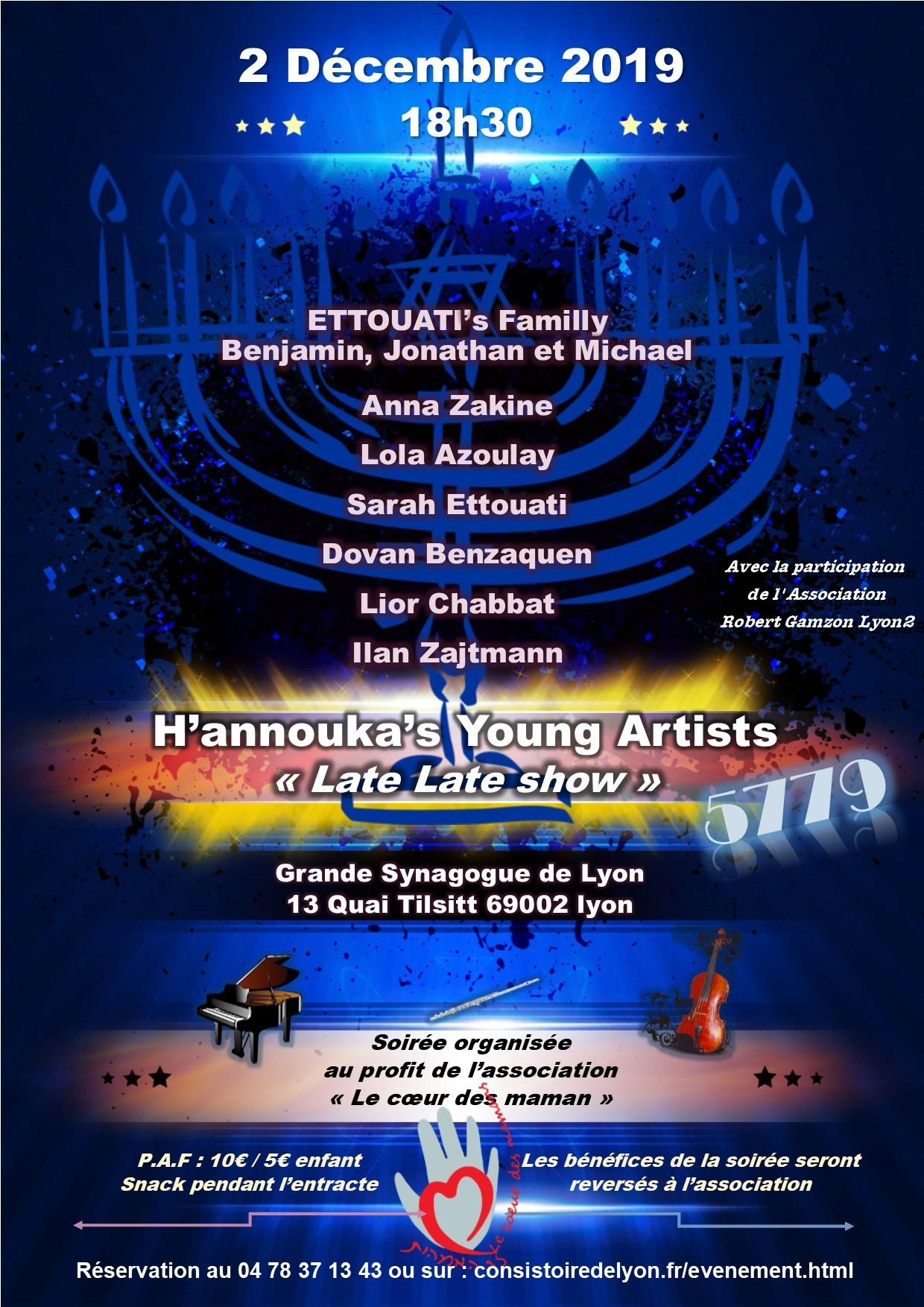 Late late show, avec les H'annouka'young artists