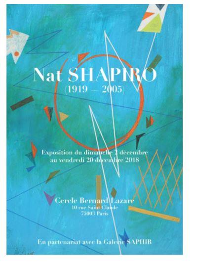 Vernissage de l'exposition Nat Shapiro