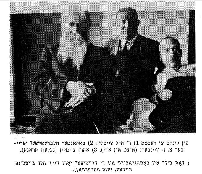 Séminaire mensuel de littérature yiddish