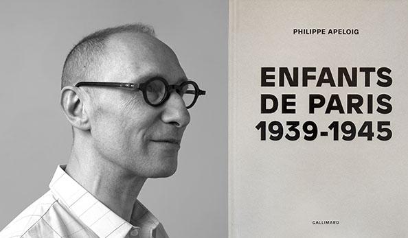 Enfants de Paris, 1939-1945 , de Philippe Apeloig