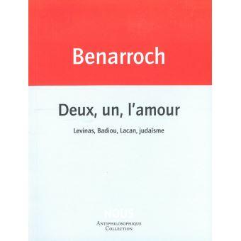Deux, un, l'amour, avec Jérôme Benarroch