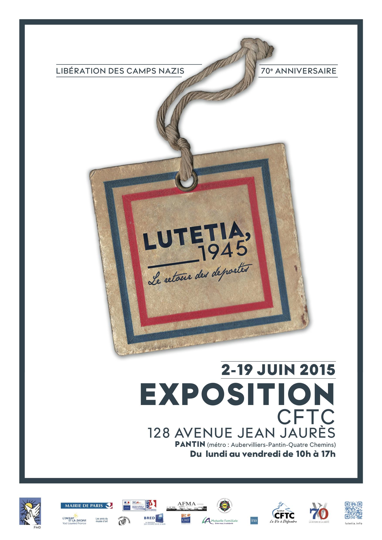 Lutétia, 1945 - Le retour des déportés