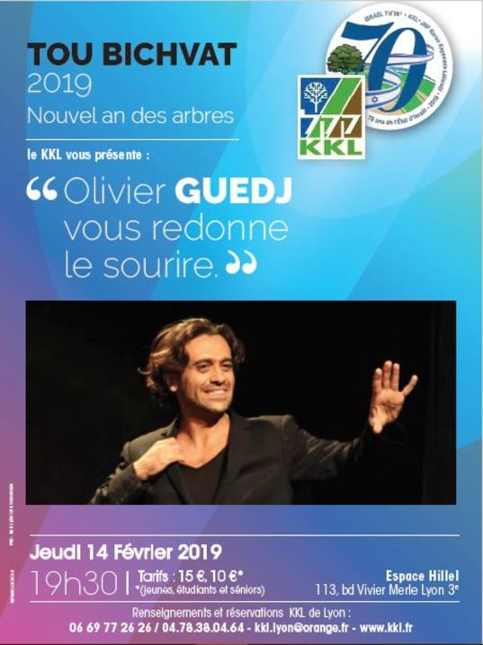 Olivier Guedj... vous redonne le sourire