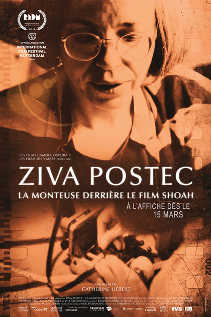 Ziva Postec: la monteuse derrière le film Shoah, de Catherine Hébert