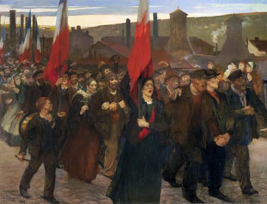 Jules Adler, peindre sous la 3ème République