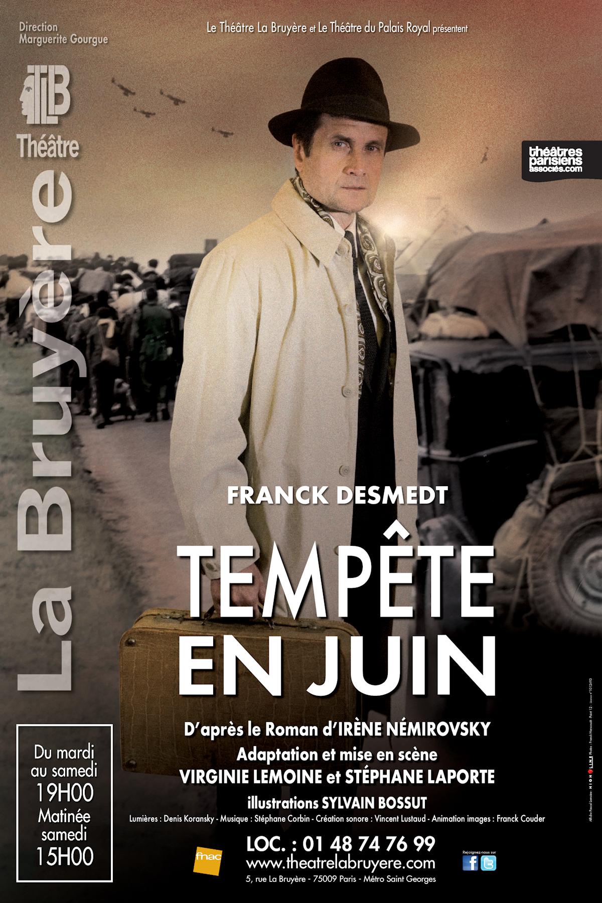 Tempête en Juin d'Irène Némirovsky