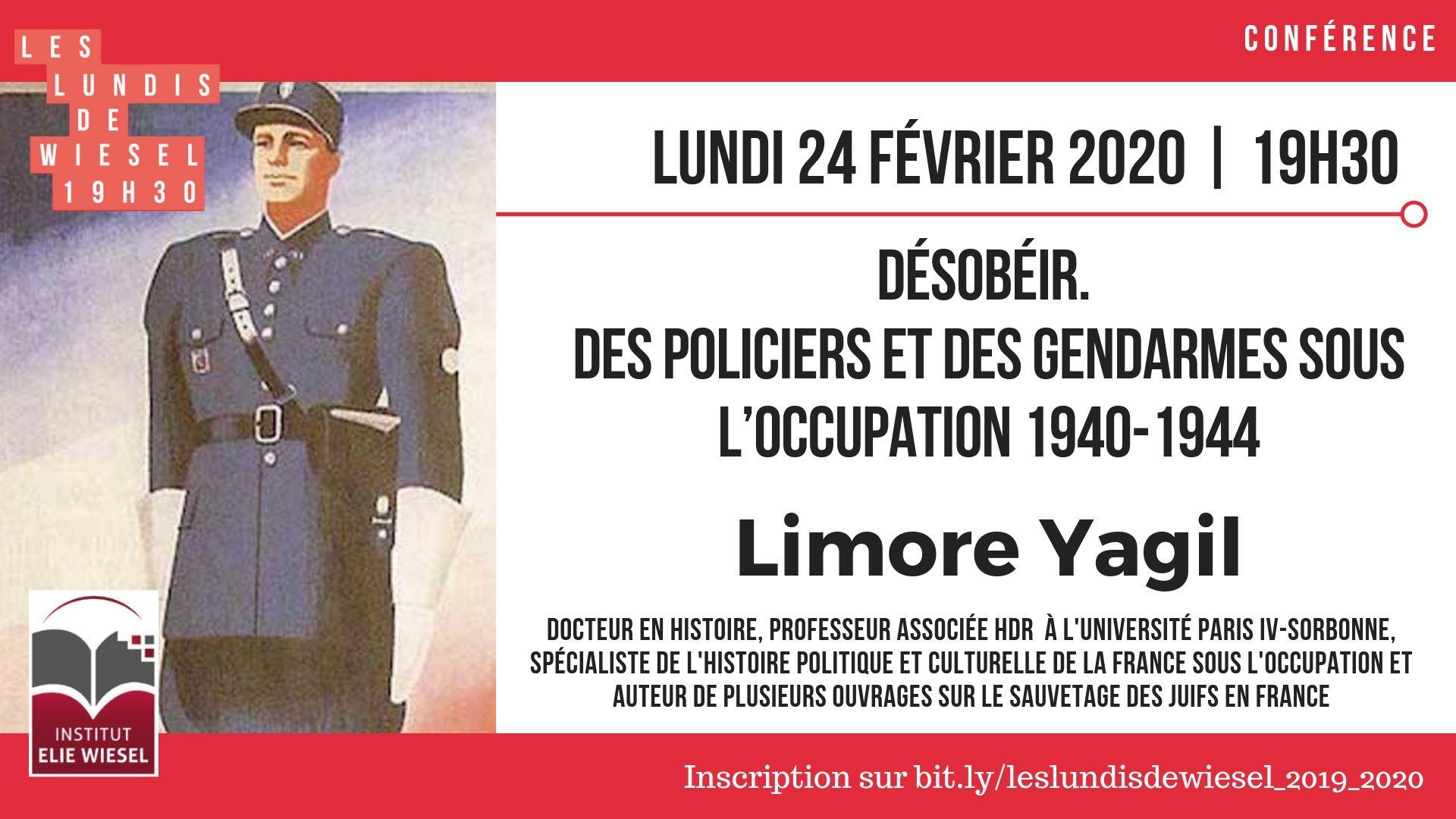 Désobéir : Policiers et gendarmes sous l'Occupation 1940-1944