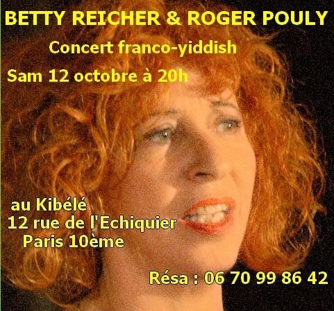 Concert franco-yiddish