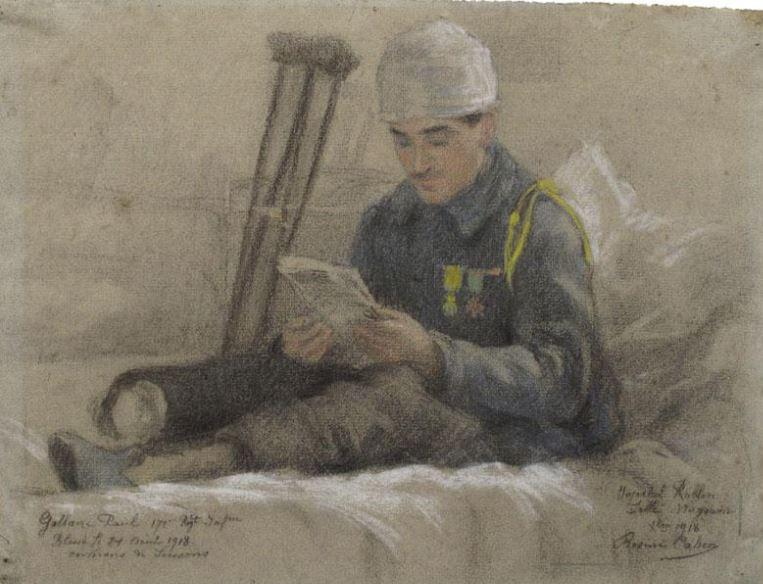 Dessins de la Grande Guerre, par Rosine Cahen