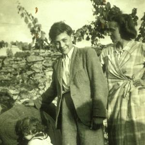 Henri Borlant, avec Annette  Wieviorka