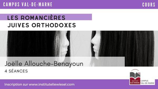La littérature juive féminine orthodoxe, avec Joëlle Allouche-Bebayoun