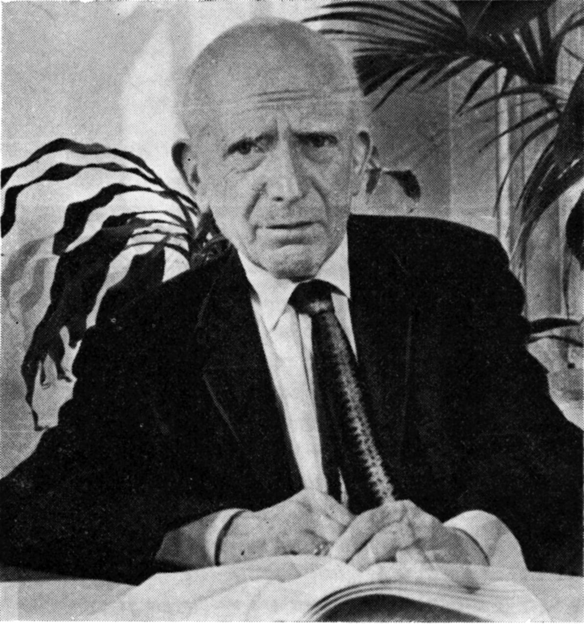 Tseytlin, le poète qui ne voulait pas être écrivain, avec Yitskhok Niborski