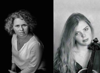 Piano violon avec Caroline Sageman et Sarah Jegou-Sageman