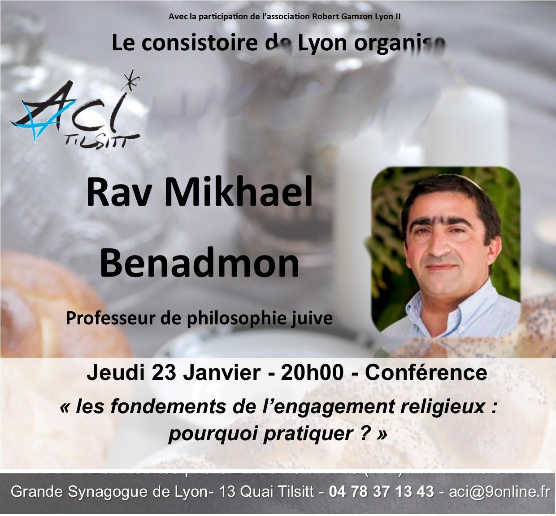 Les fondements de l'engagement religieux: pourquoi pratiquer ? avec Mickael Benadmon