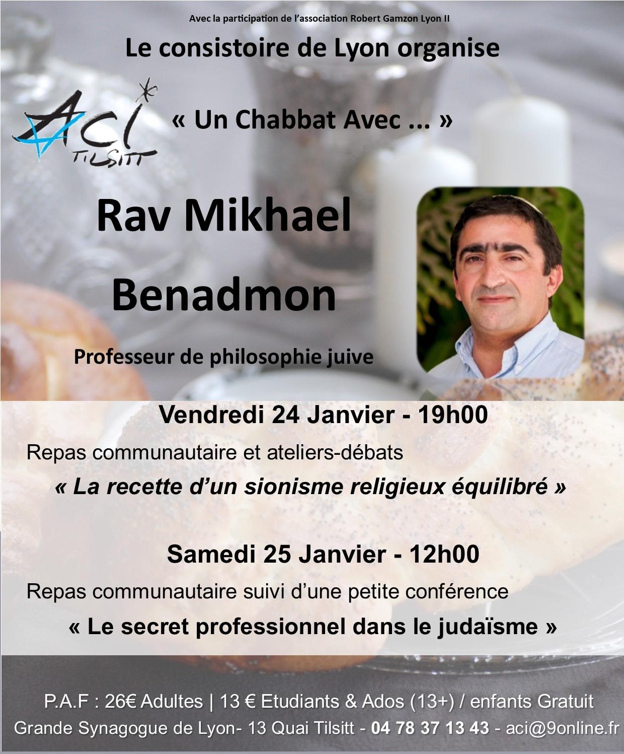Chabbat plein, avec Mickael Benadmon