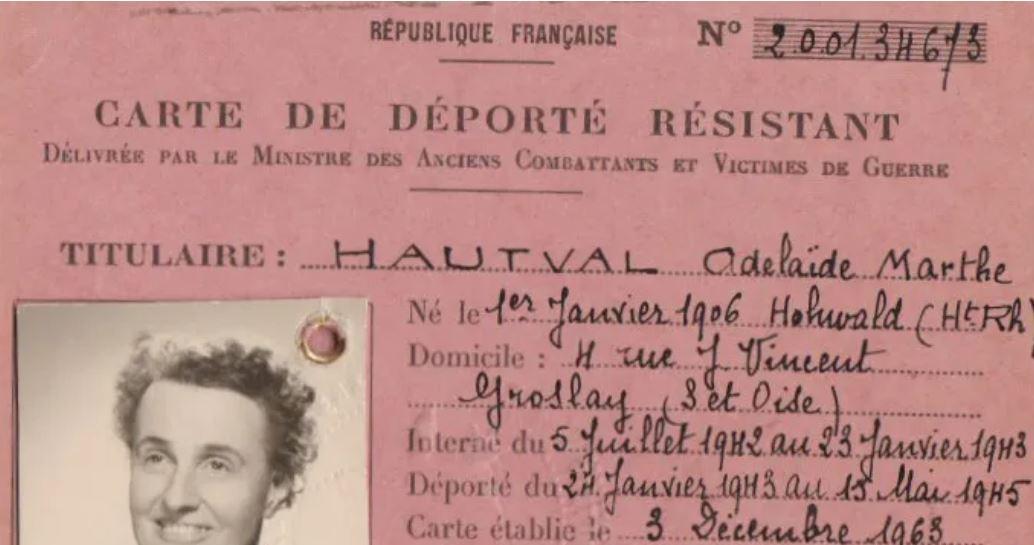 Docteur Adélaïde Hautval, résister jusqu'au bout