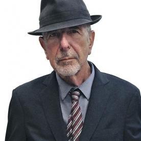 Portrait de Léonard Cohen, avec Paul Krissi