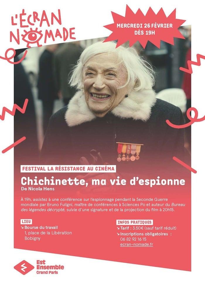 Chichinette, ma vie d'espionne,  par Nicola Alice Hens.