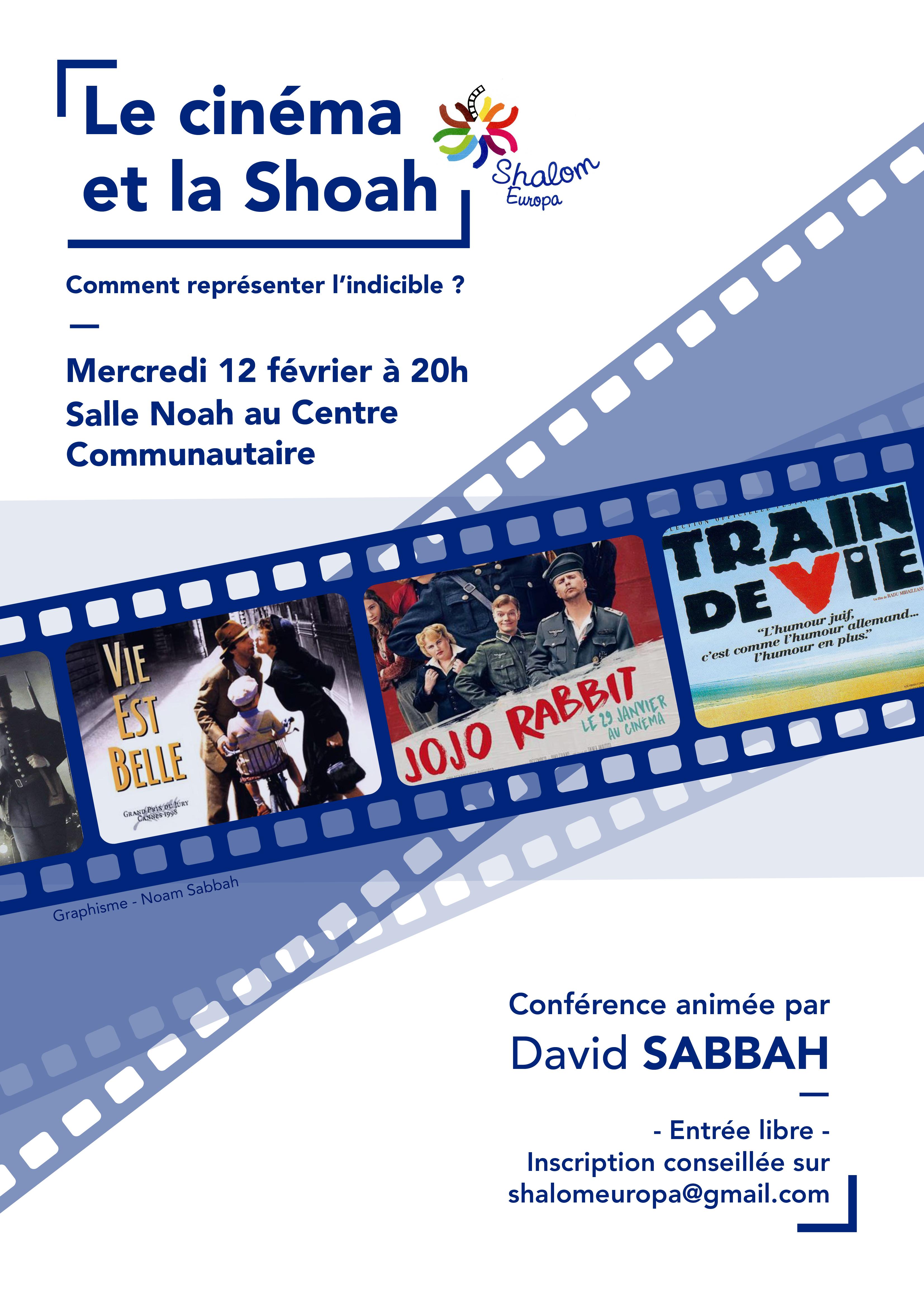Le cinéma et la Shoah, avec David Sabbah
