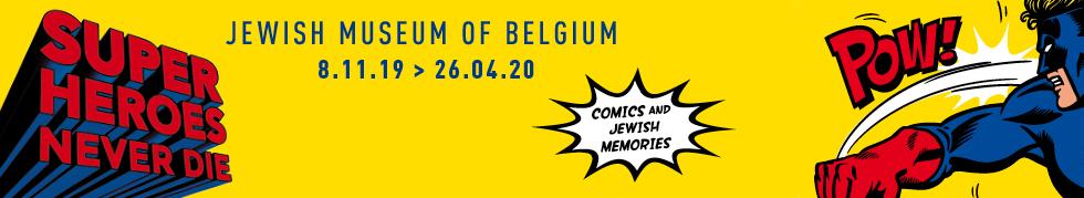 Superheroes never die. Comics and Jewish Memories