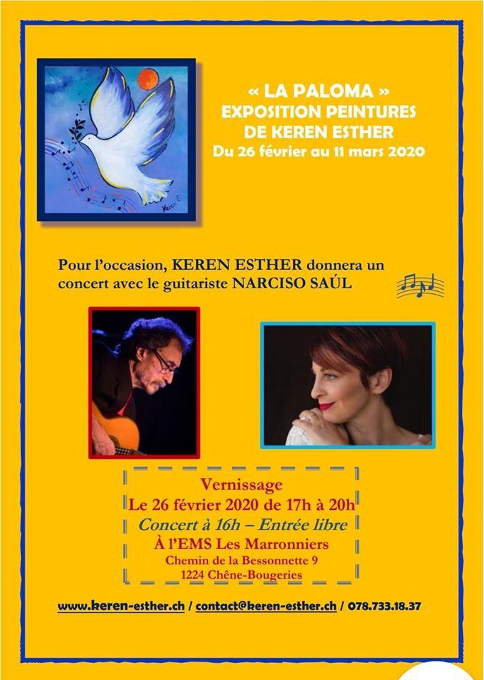 La paloma, avec Keren Esther