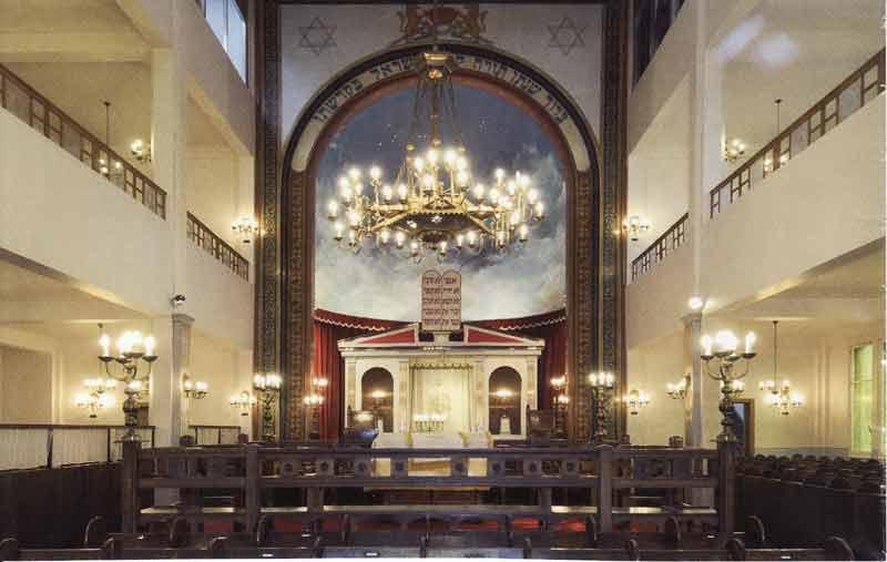 Anderlecht la juive:  synagogue