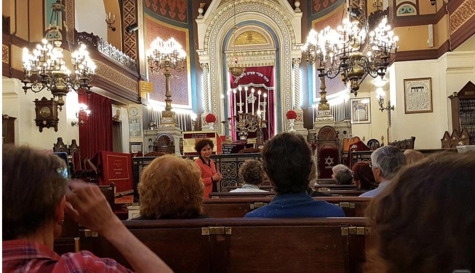 Découvrir une synagogue avec Yaël Baranes