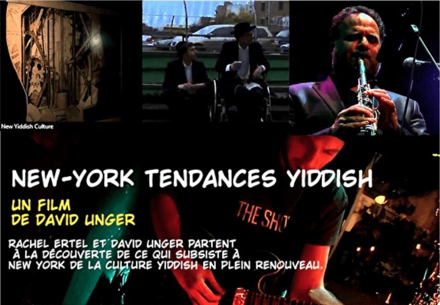 New York tendances yiddish, de David Unger