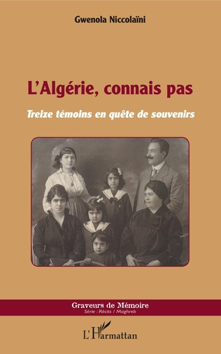 L'Algérie connais pas, avec Gwenola Niccolaïni