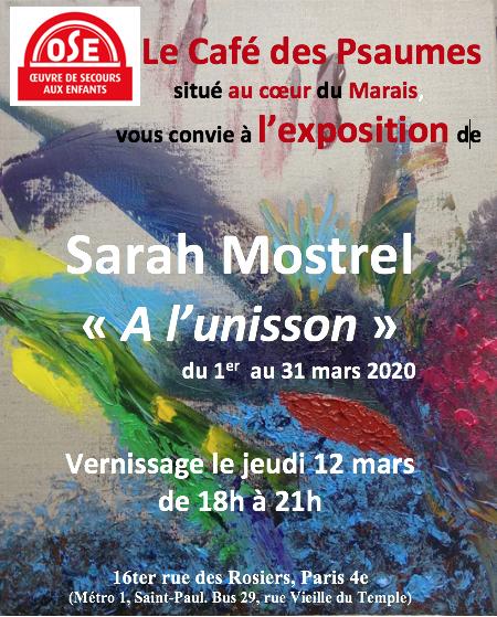 A l'unisson, de Sarah Mostrel
