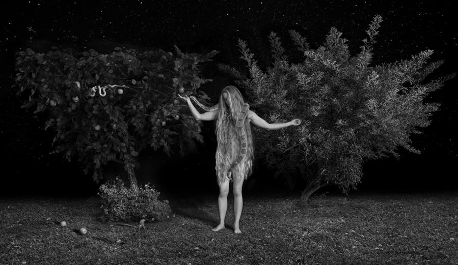 Instantanés du Jardin d'Eden, de Dina Goldstein