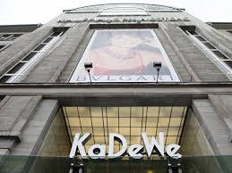 Les grands magasins, ces temples du rêve: KaDeWe, Berlin