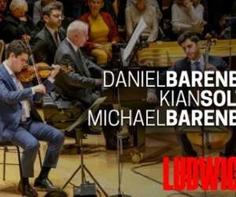 Live: Beethoven : Trios avec piano, avec Daniel Barenboim
