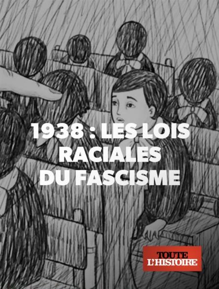 1938, les lois raciales du fascisme