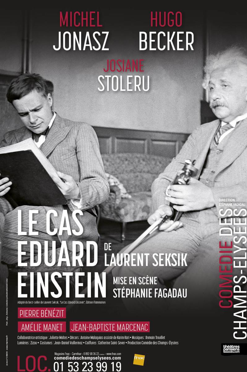 Théâtre filmé: Le cas Eduard Einstein, de Laurent Seksik