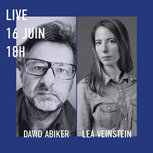 Instagram Live avec Léa Veinstein et David Abiker