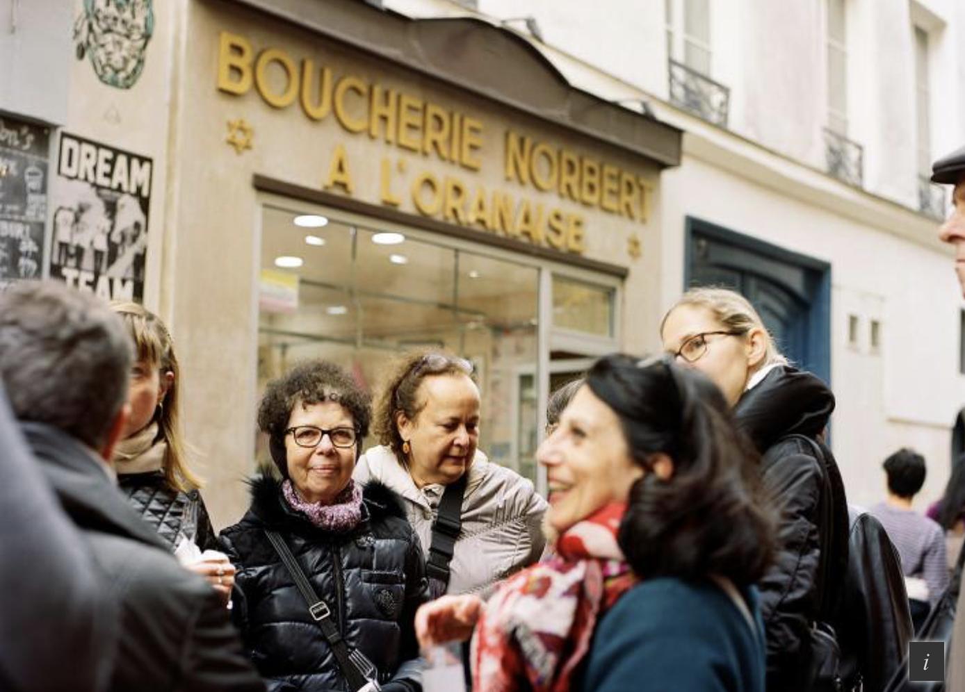 Visite virtuelle: saveurs du Marais juif - Promenade, avec Elisabeth Kurztag
