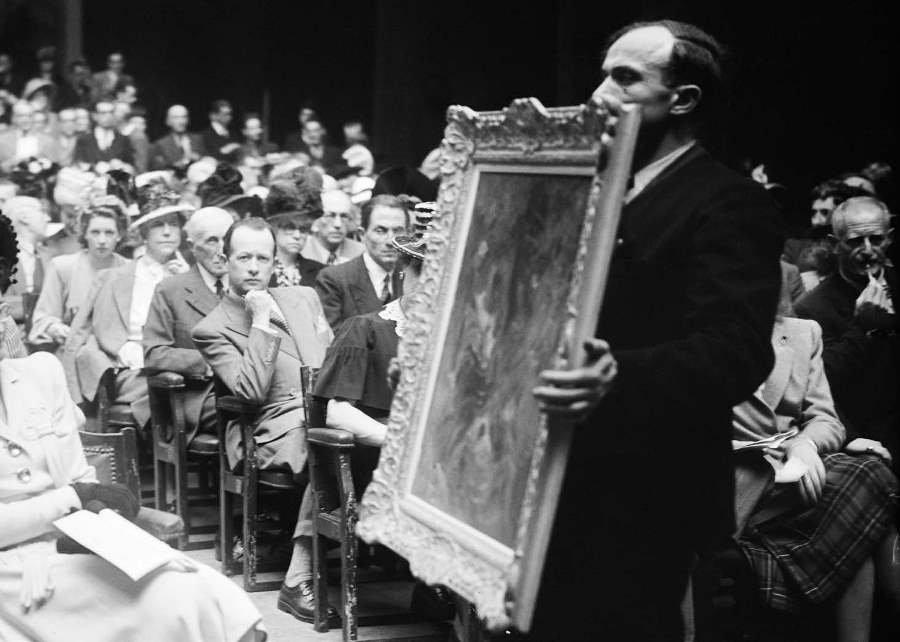 Expo virtuelle: le marché de l'art sous l'Occupation 1940-1944