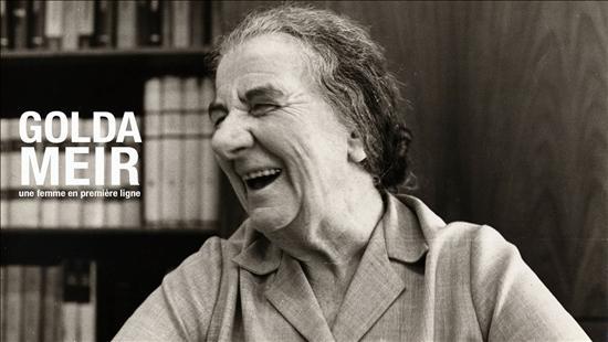 Golda Meir, une femme en première ligne