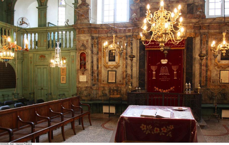 Visite guidée de la synagogue et du quartier juif de Carpentras