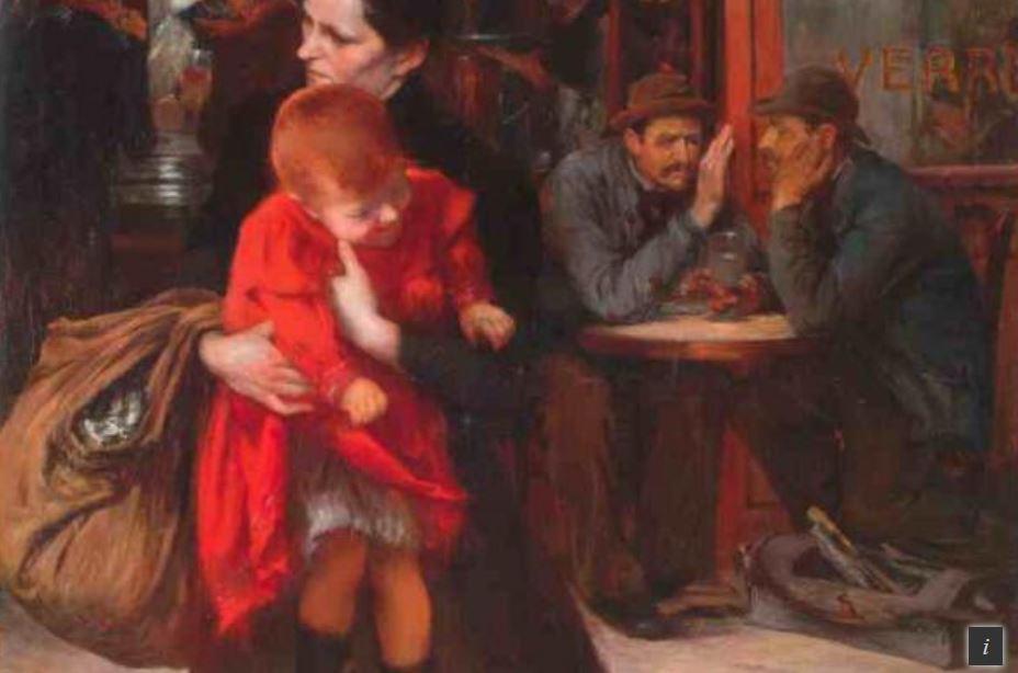 Expo virtuelle: Jules Adler, peintre du peuple