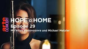 Live: Hope @Home, avec Daniel Hope, Christoph Israel, Aliya Vodovozova & Michael Metzler