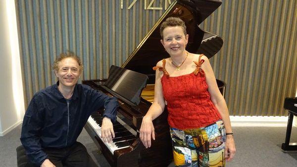 Live: les chansons yiddish et hébraïques de Michèle Tauber et Laurent Grynszpan