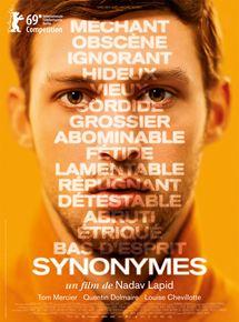 Synonymes, de Nadav Lapid