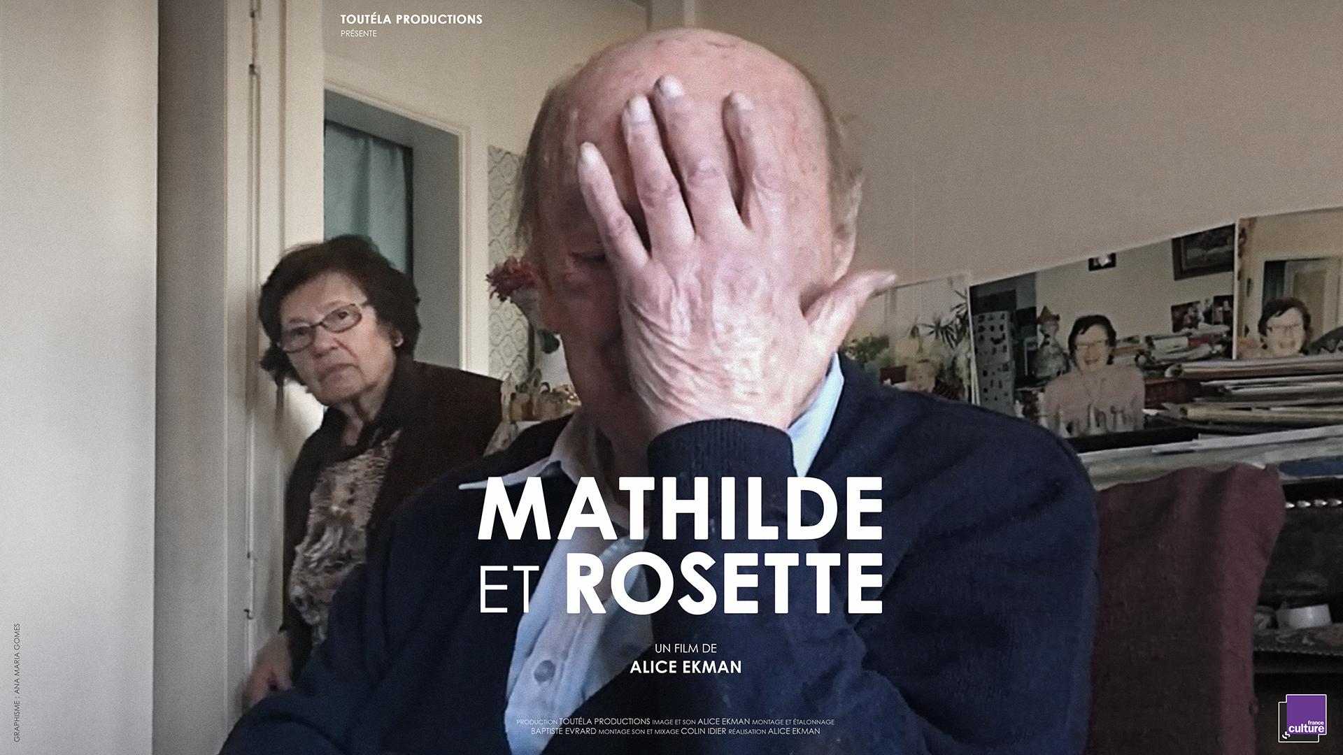 Mathilde et Rosette, de Alice Ekman