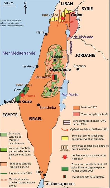 Israël: les naufragés des deux Palestine