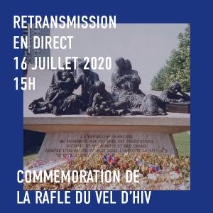 En live: commémoration de la rafle du Vel d'Hiv